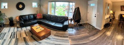 Panoramic Living Room Picture Sonrise Apartments in Marysville WA